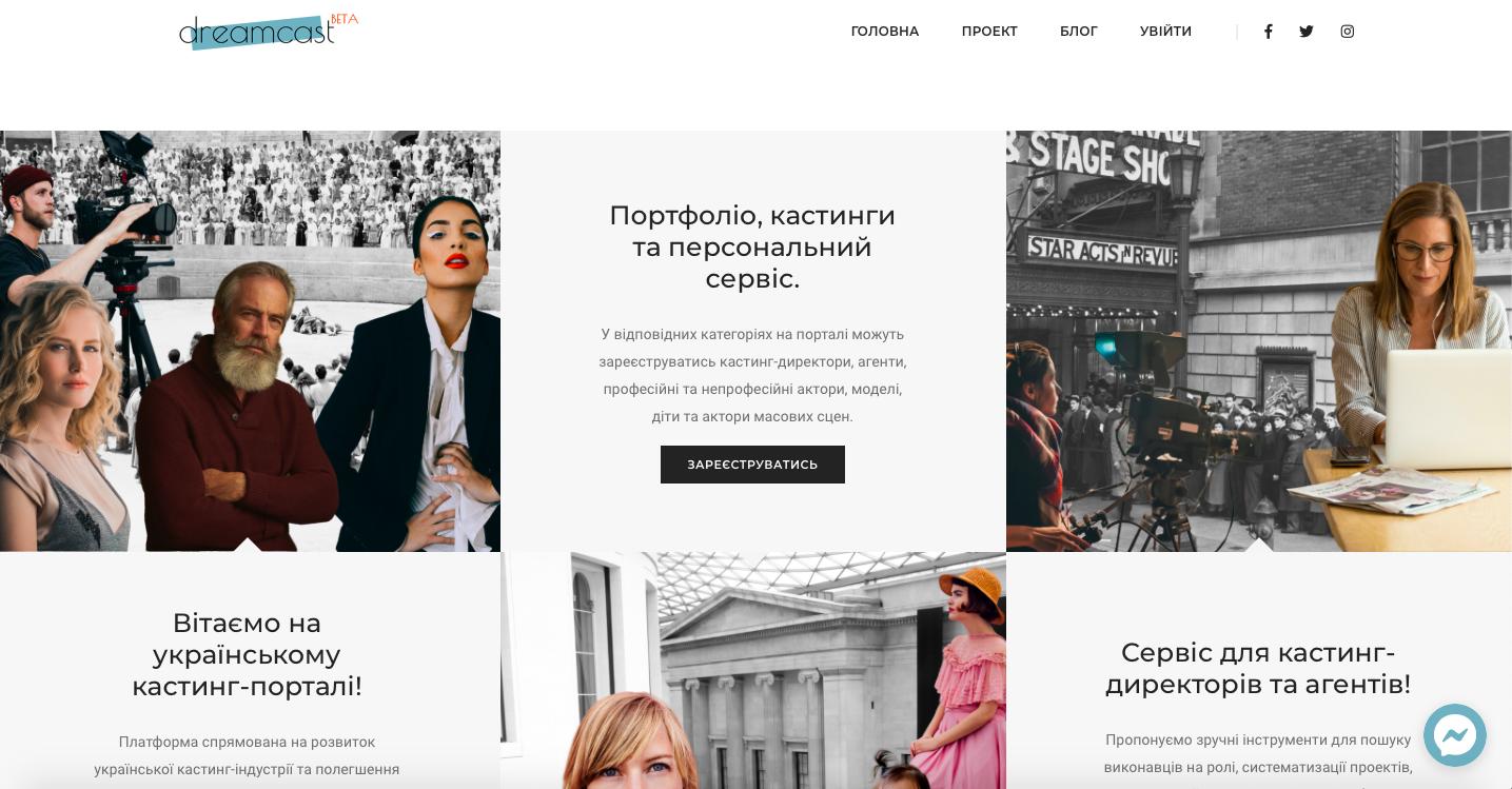 Кастинги актеров украина набор девушек работа
