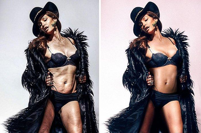 Знаменитый косметический бренд перестанет фотошопить моделей в рекламе