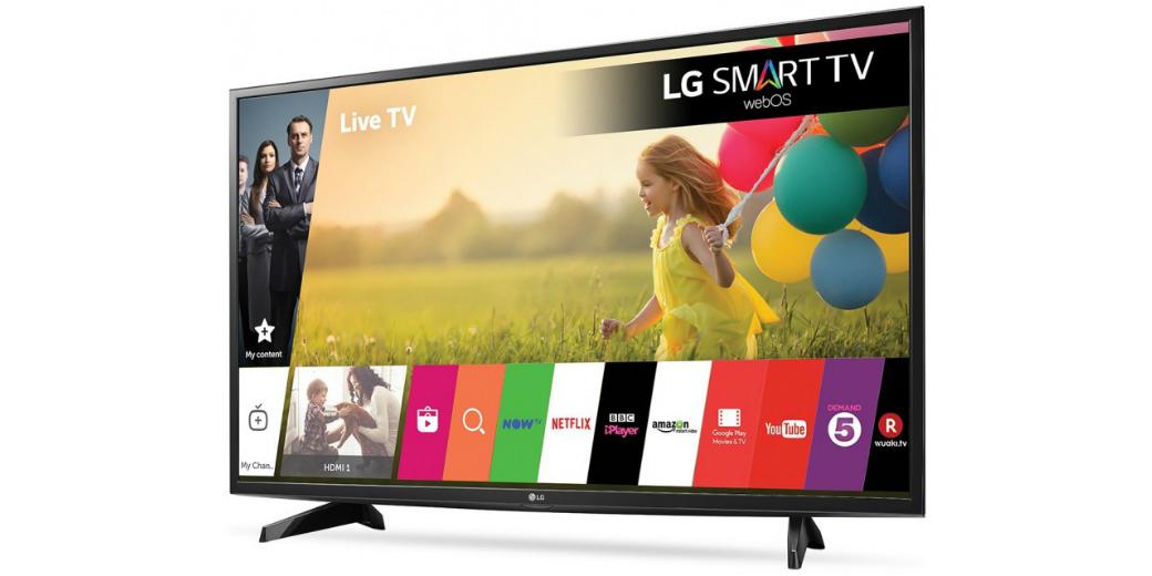 Топ популярных телевизоров LG в Украине