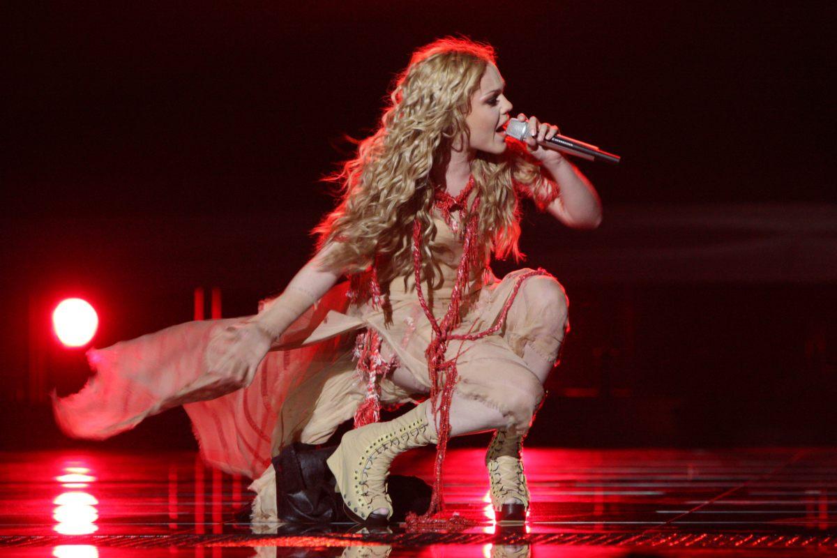 Украинская участница Евровидения-2010 отобрала у MELOVIN надежды на победу