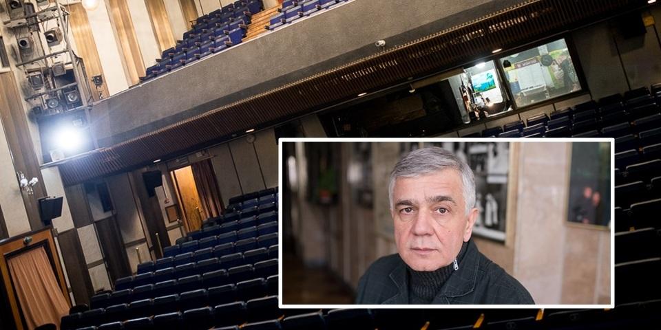 Маленькие театры большого города: режиссер Театра драмы икомедии налевом берегу Днепра отом, как надоело бороться