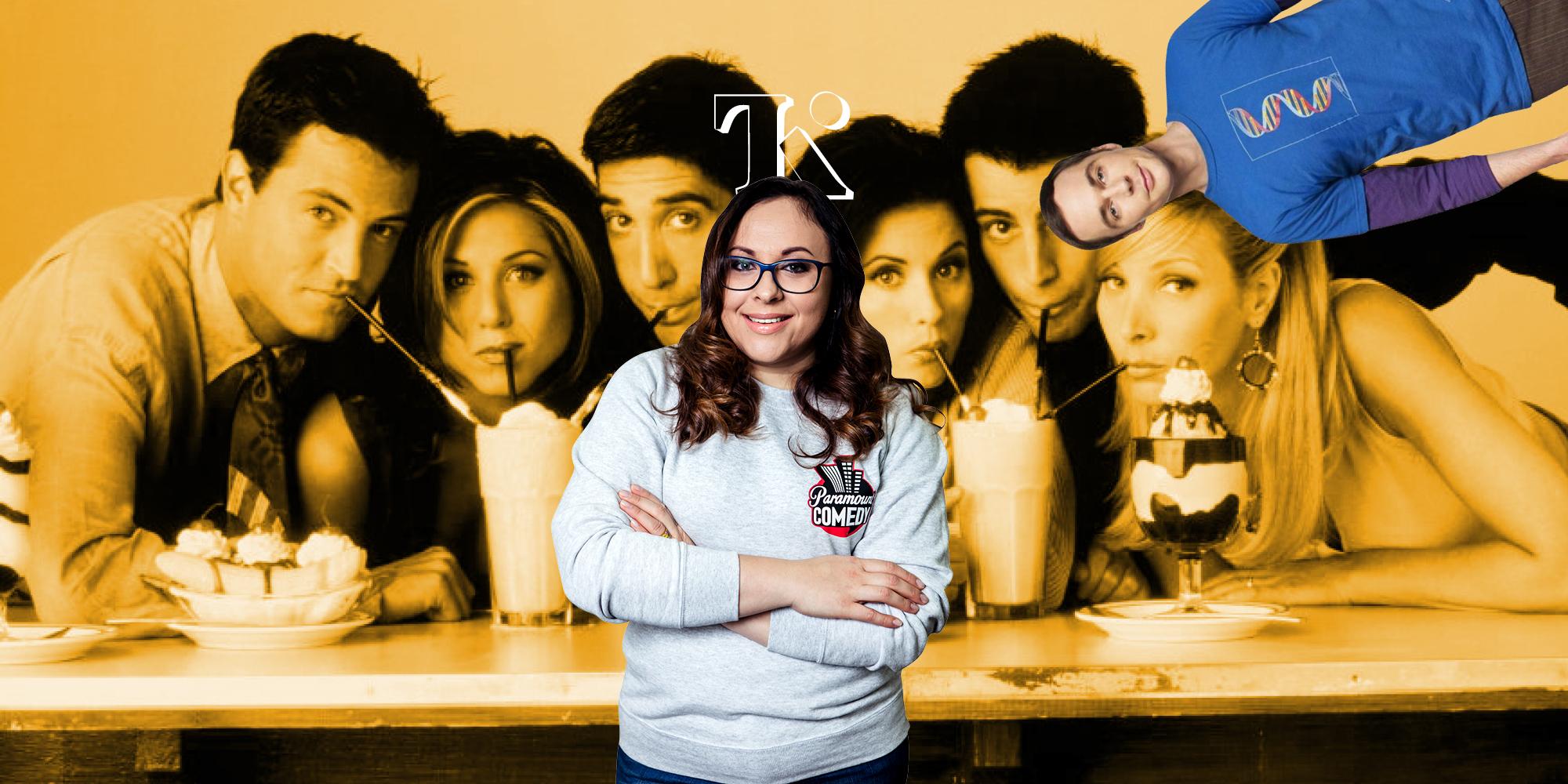 Оксана Петришин: «Прошло 15 лет, а украинцам все нравится сериал «Друзья»