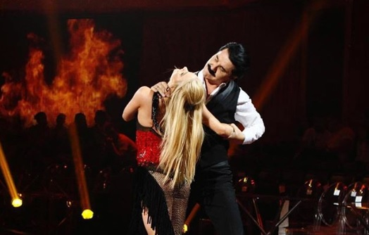 Зибров ушел из «Танців з зірками» с ощущением победы