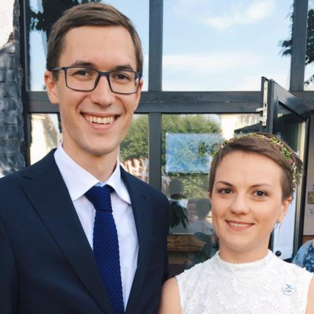Журналист запрещенного в Украине канала женился на руководителе «Громадського телебачення» Наталье Гуменюк