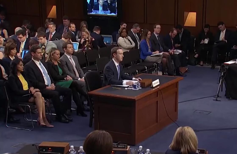 О чем говорил Марк Цукерберг в Конгрессе США