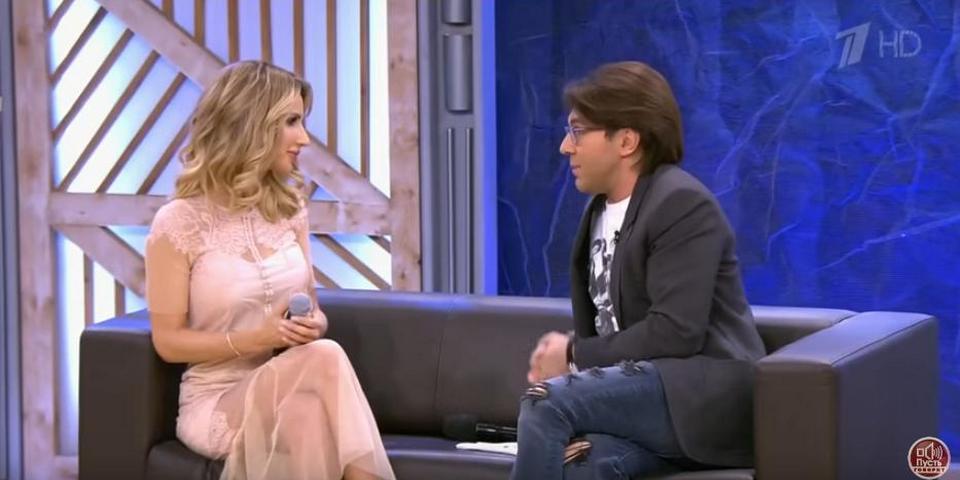 В программе «Пусть говорят» Лобода рассказала о провокации журналистов «1+1»