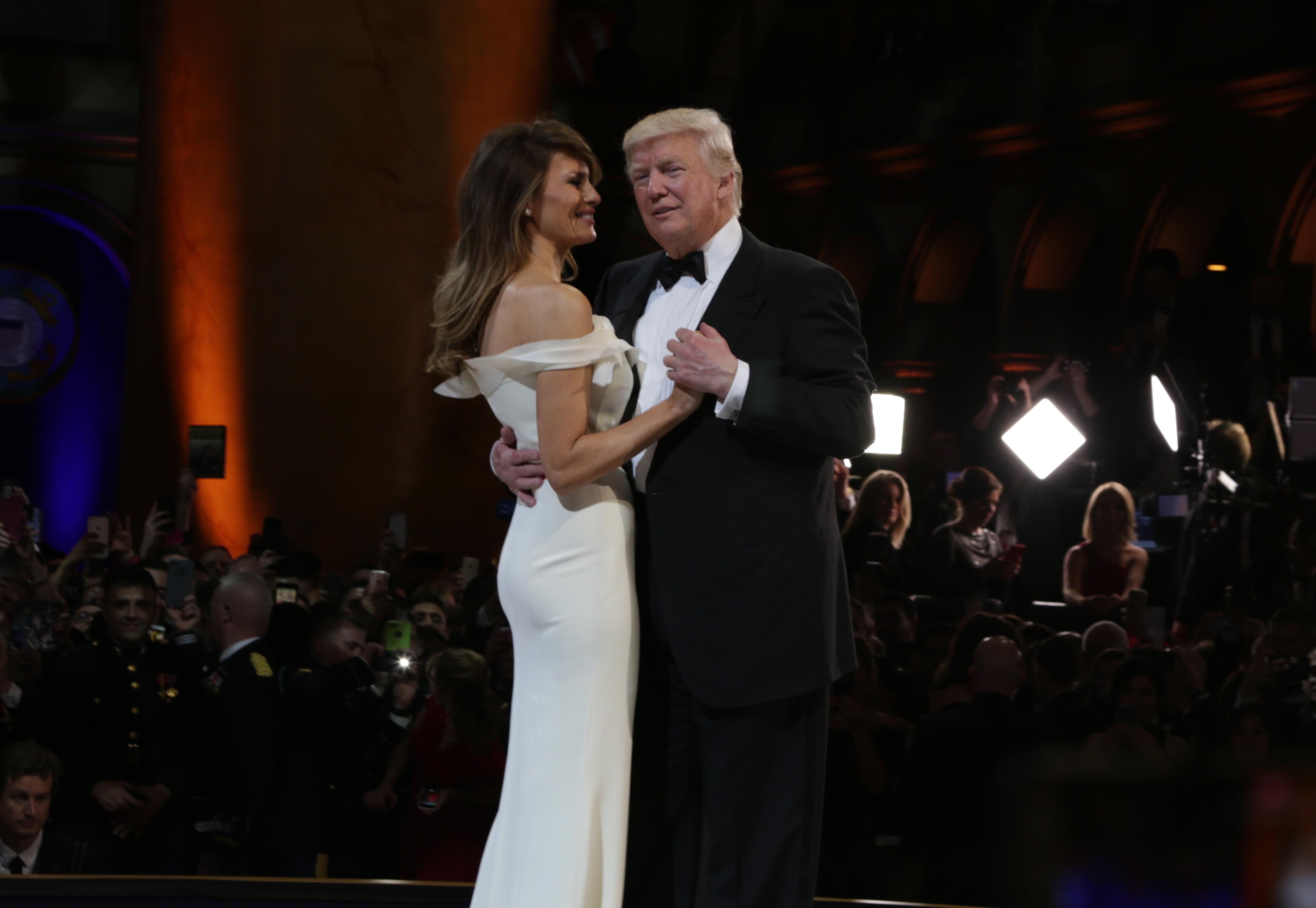 Меланья Трамп простила президенту США измены