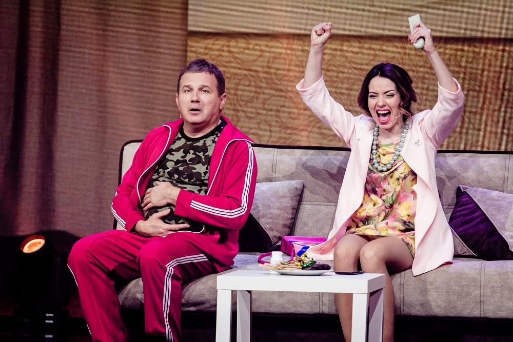 Ради нового шоу Юрий Горбунов поиронизировал над женой
