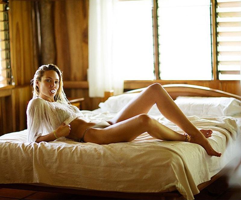 Стали известны самые высокооплачиваемые модели нижнего белья