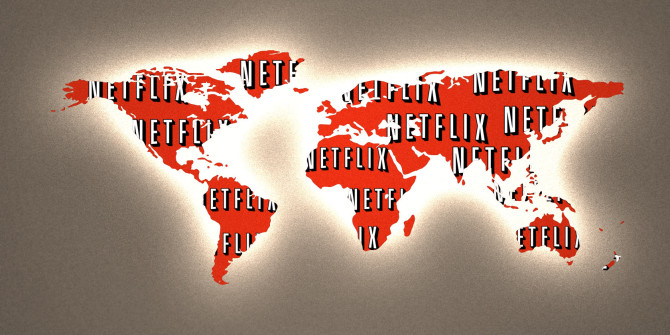 приложение Netflix на медиаприставке Roku Express