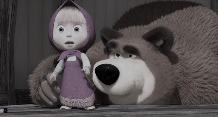 Мультфильм «Маша и медведь» назвали путинской пропагандой