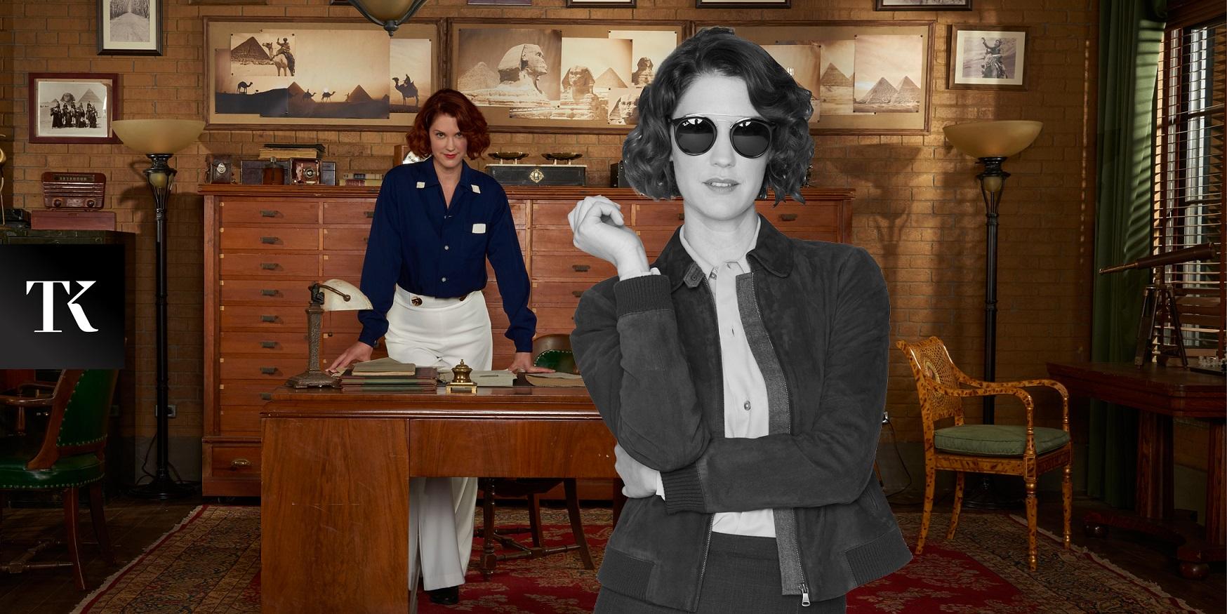 Звезда «Расследований Фрэнки Дрейк» – о женской дружбе и Гильермо дель Торо