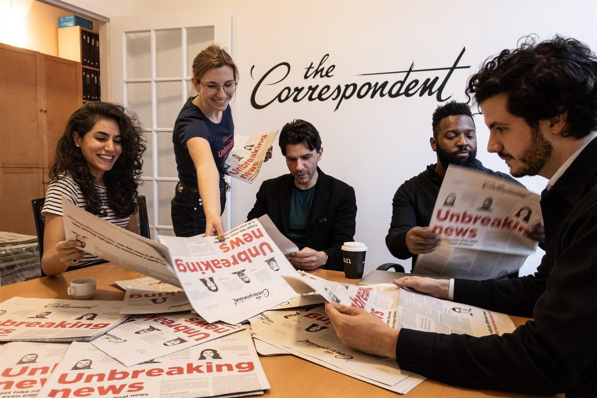 📢 «Мыоблажались»: The Correspondent не будет открывать бюро в США