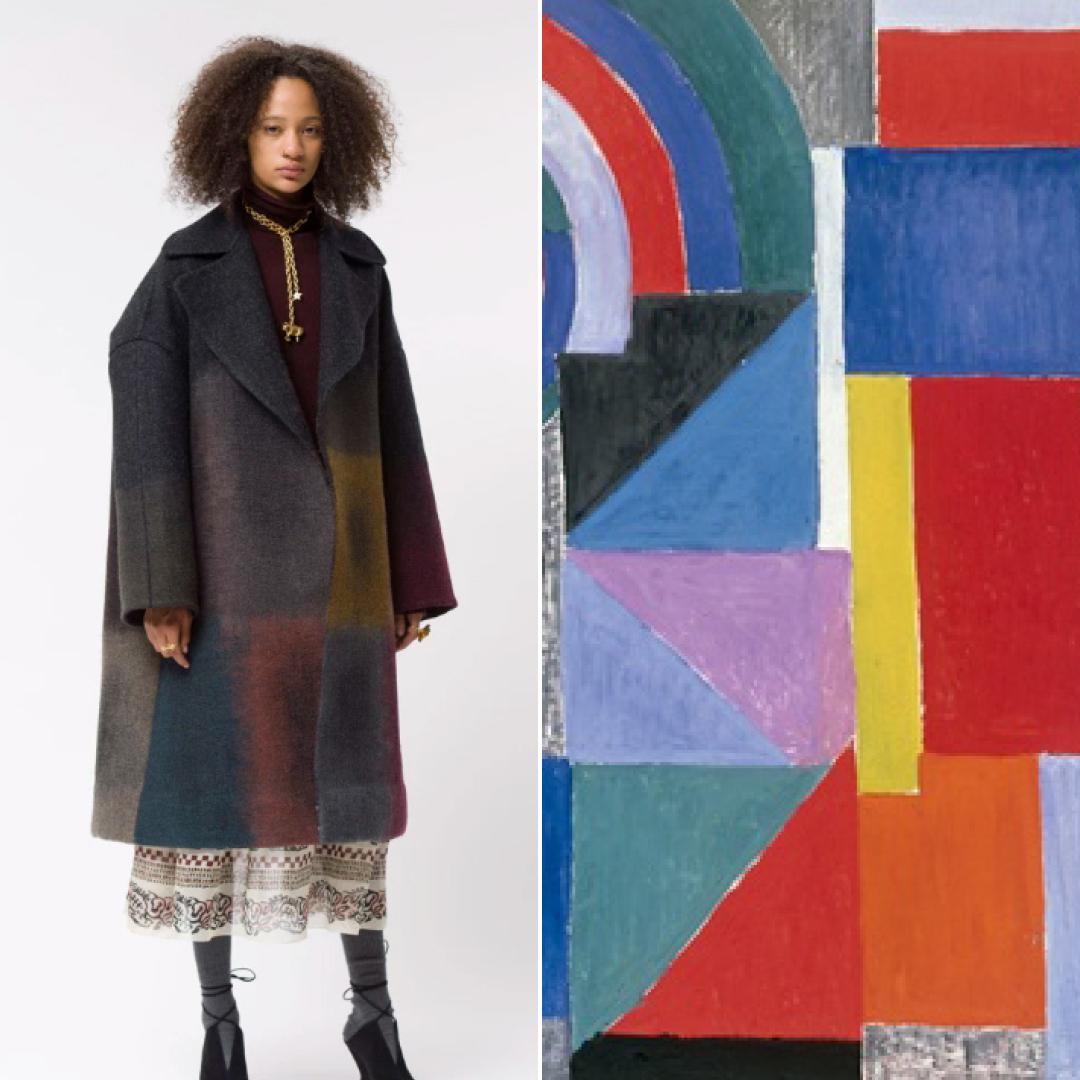 Украинский ген: работы Сони Делоне вдохновили новую коллекцию Dior