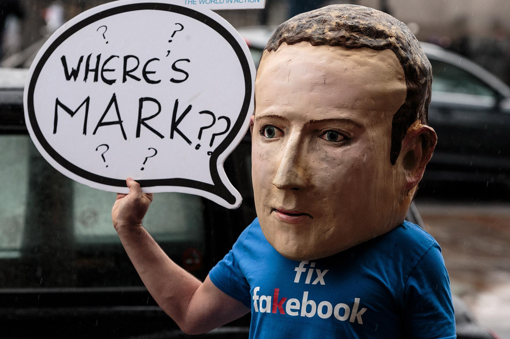 Facebook заплатит по полной за нарушение конфиденциальности личных данных