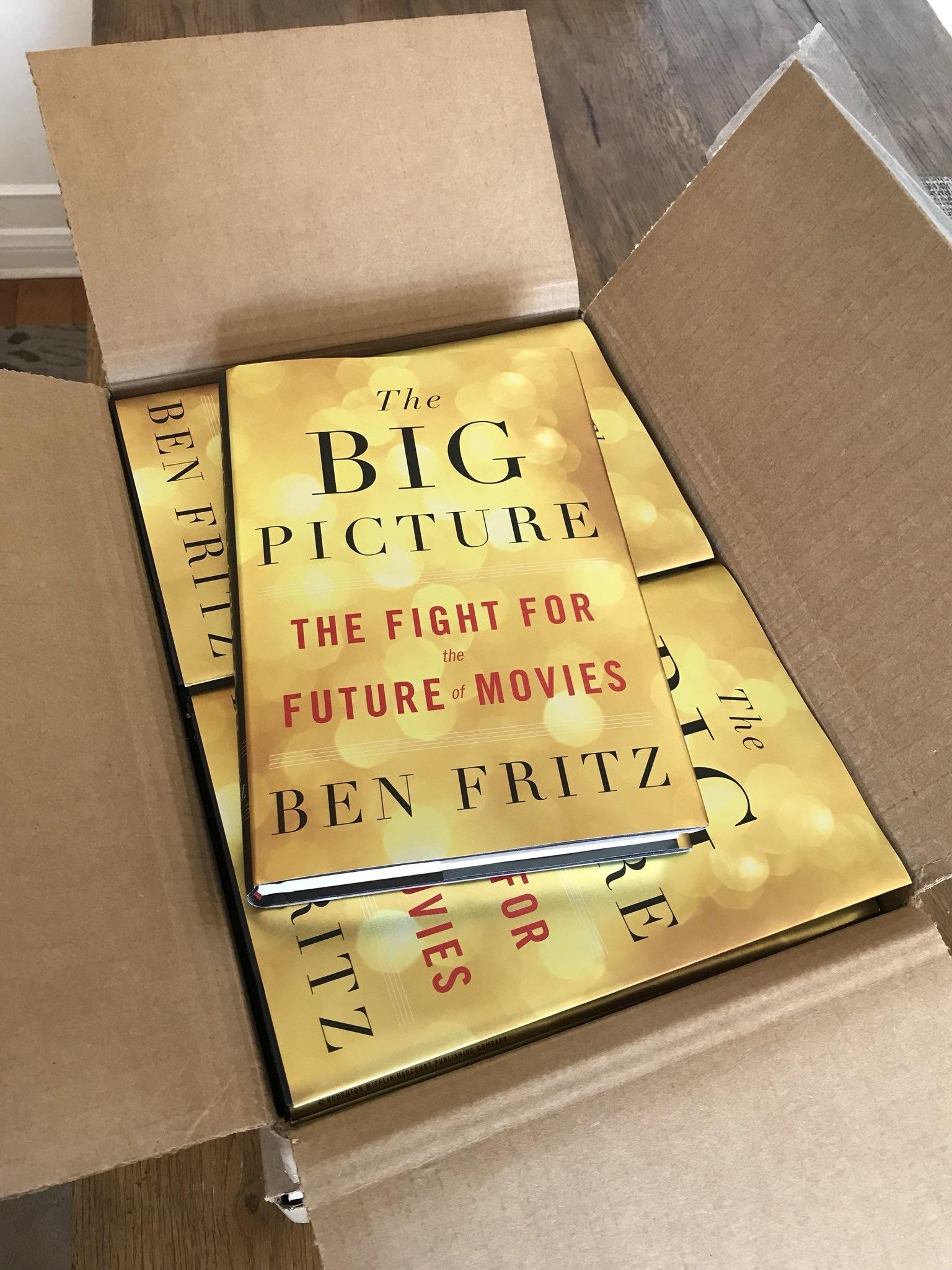 «Большая картина»: книга о кардинальных переменах в кинобизнесе