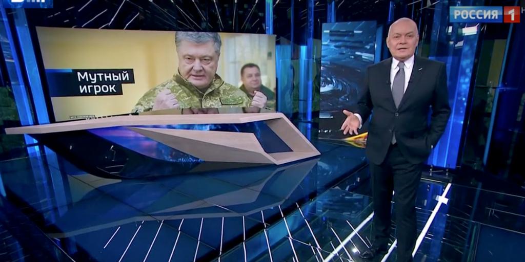 Україна була головним об'єктом російської пропаганди в 2018