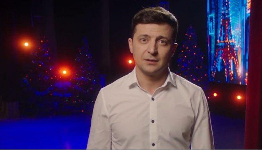 Зеленський: показ заяви про президентство замість привітання Порошенка був «технічною помилкою»