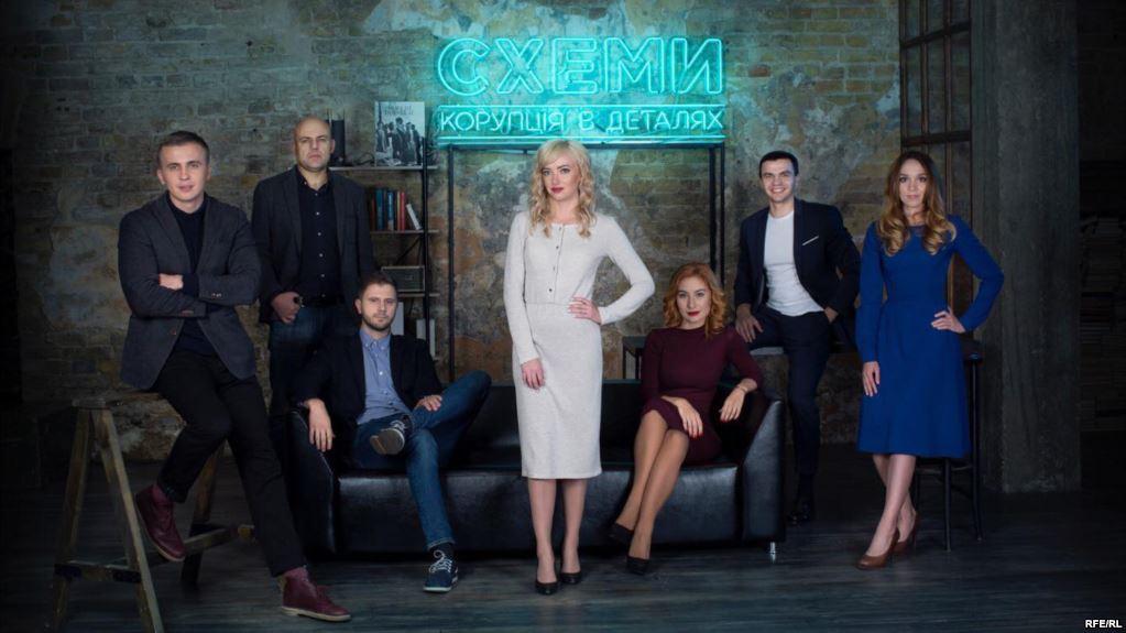 🕵 Охрана Ахметова следит за журналистами программы «Схемы»