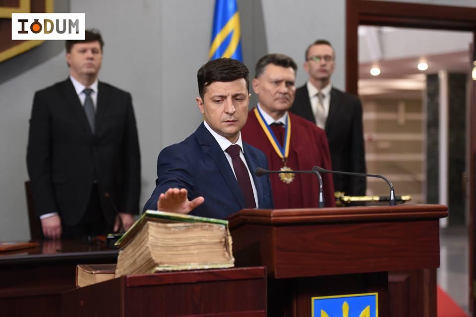 Зеленский, ЦИК, Нацсовет и Госкино прокомментировали претензии к сериалу «Слуга народа»