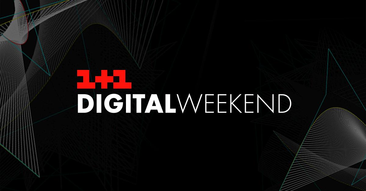 👨💻1+1 Digital Weekend 2019: что нужно знать о работе с контентом в интернете