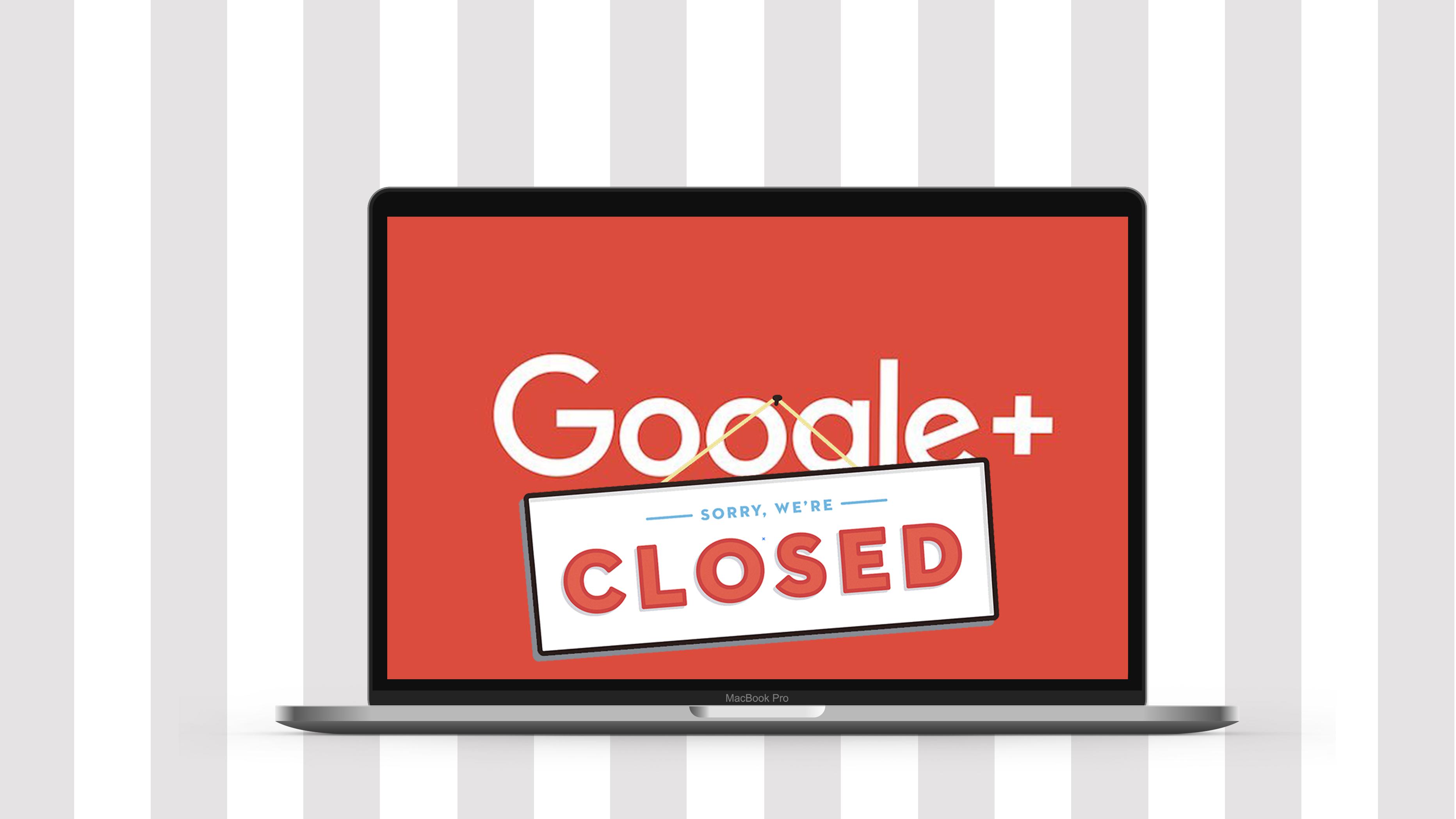 ⚡ Google+ закрився