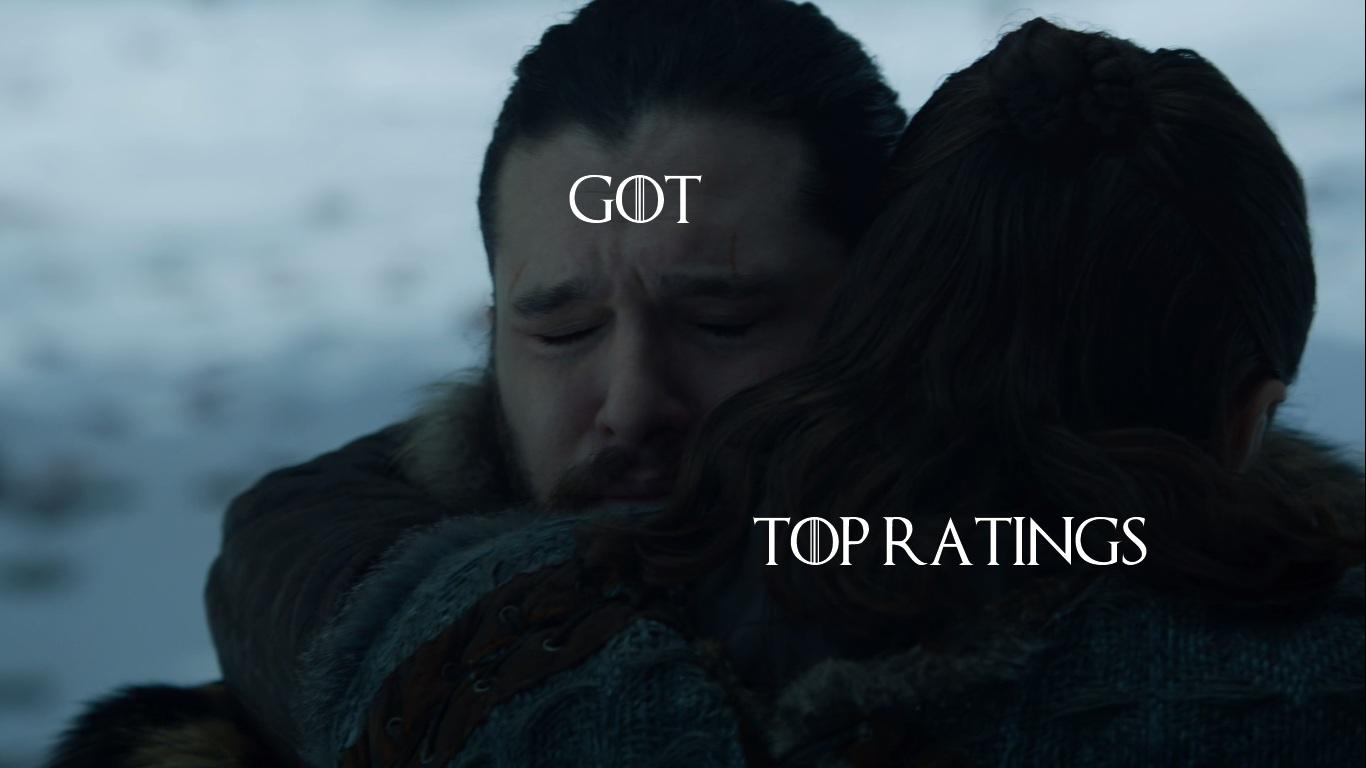 📈«Игра престолов» бьет рейтинги предыдущего сезона