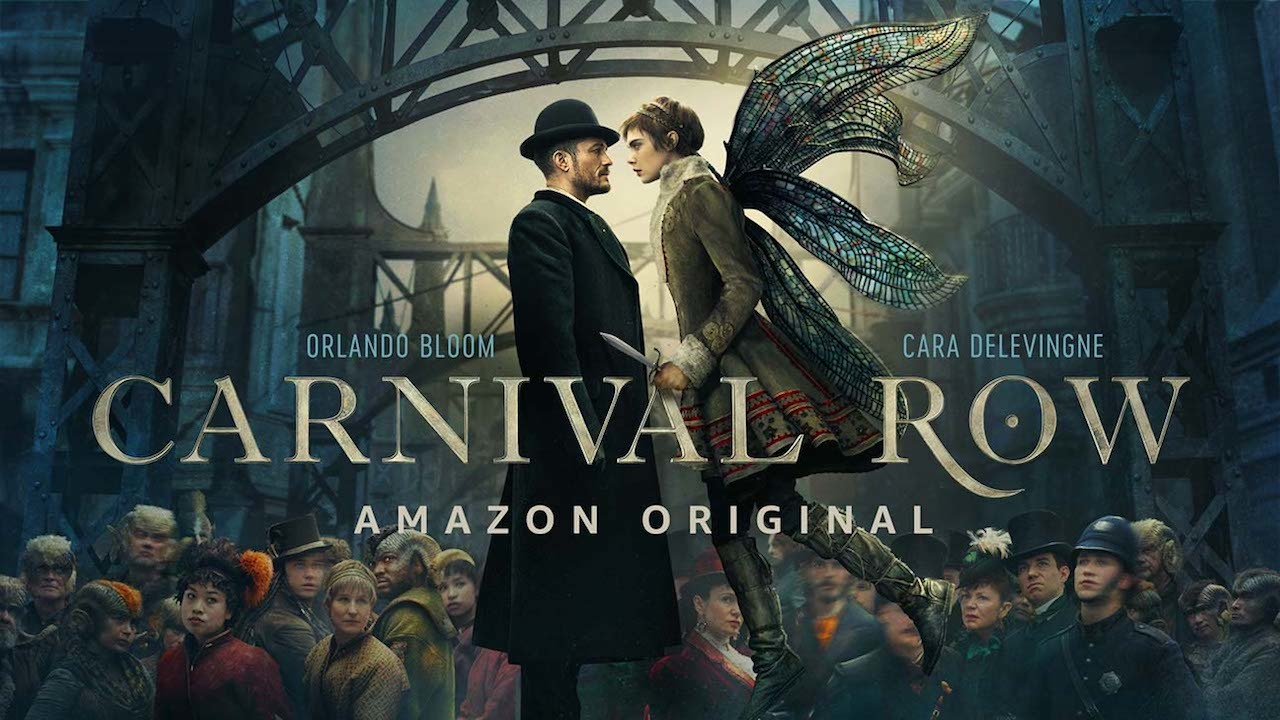 ▶ Крылатая Делевинь в первом тизере Carnival Row