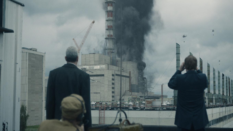 ☢ Модель энергоблока попала в «Чернобыль» из украинского сериала
