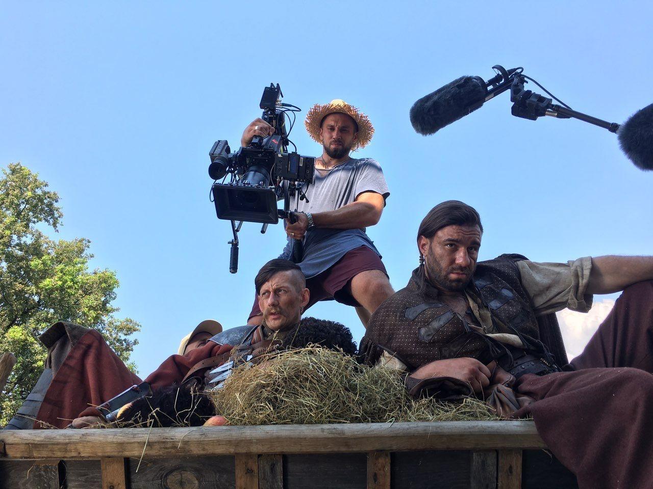 Съемки сериала ICTV о казаказ