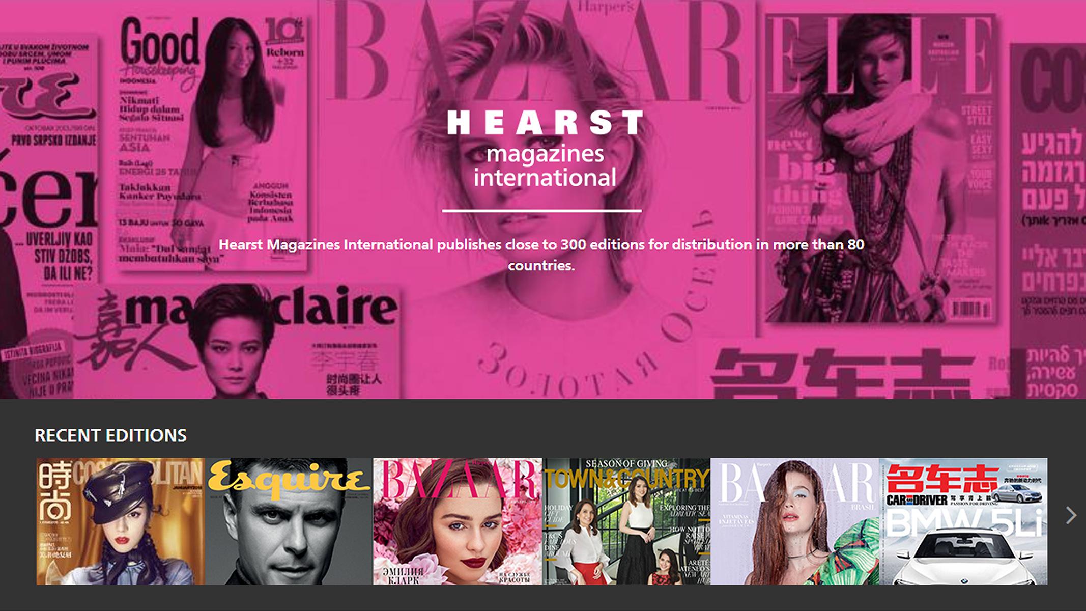 Как глянцевые медиа Hearst Magazines работают с большими данными
