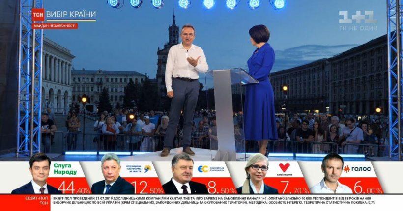 Рецепт першості ТСН у день виборів: Мазур – на Майдані, Мосейчук – у Межигір'ї та ввімкнення штабів