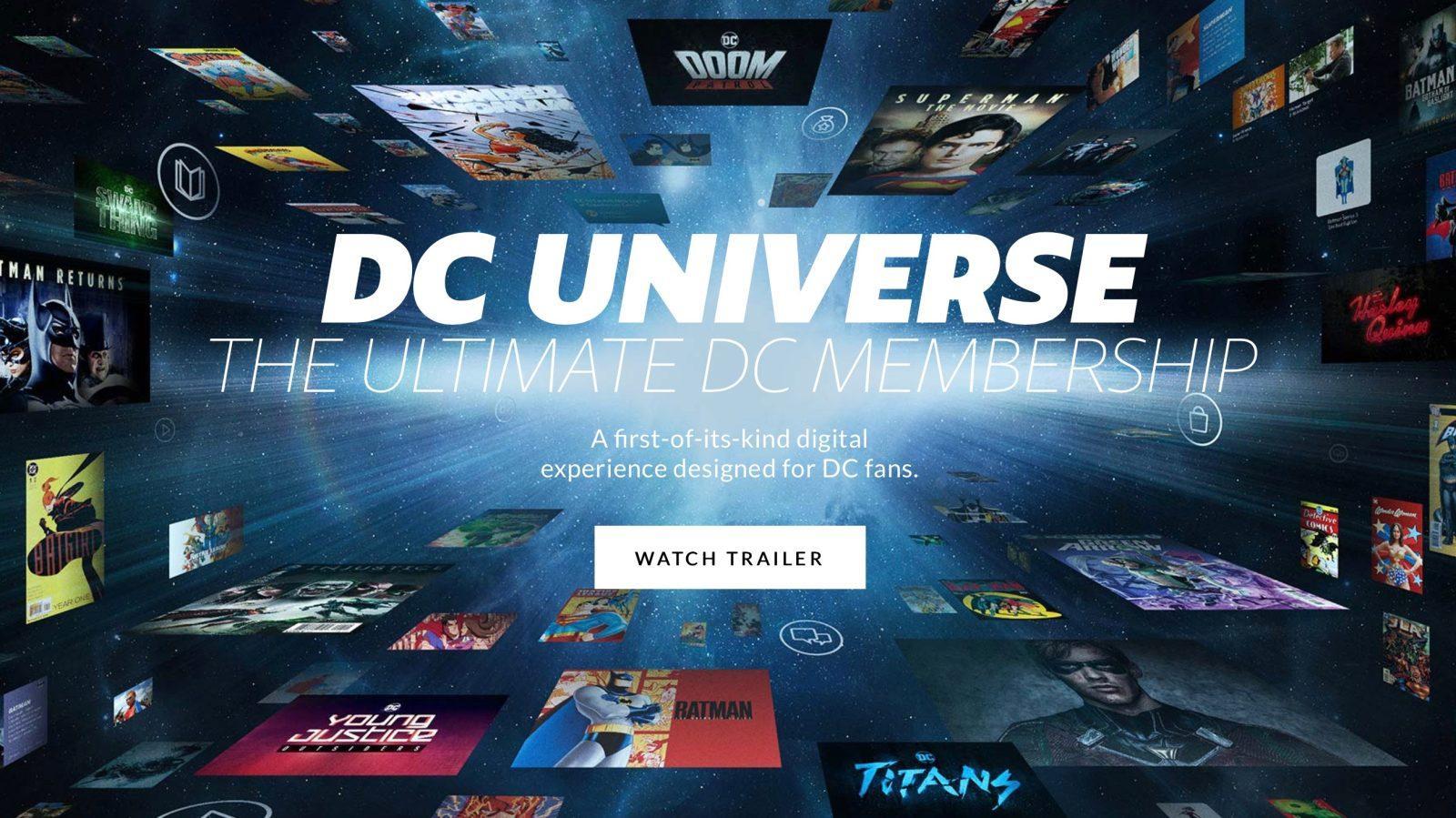 скриншот DCUniverse