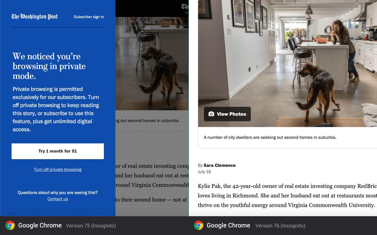 Google Chrome лишит онлайн-медиа дохода от платной подписки