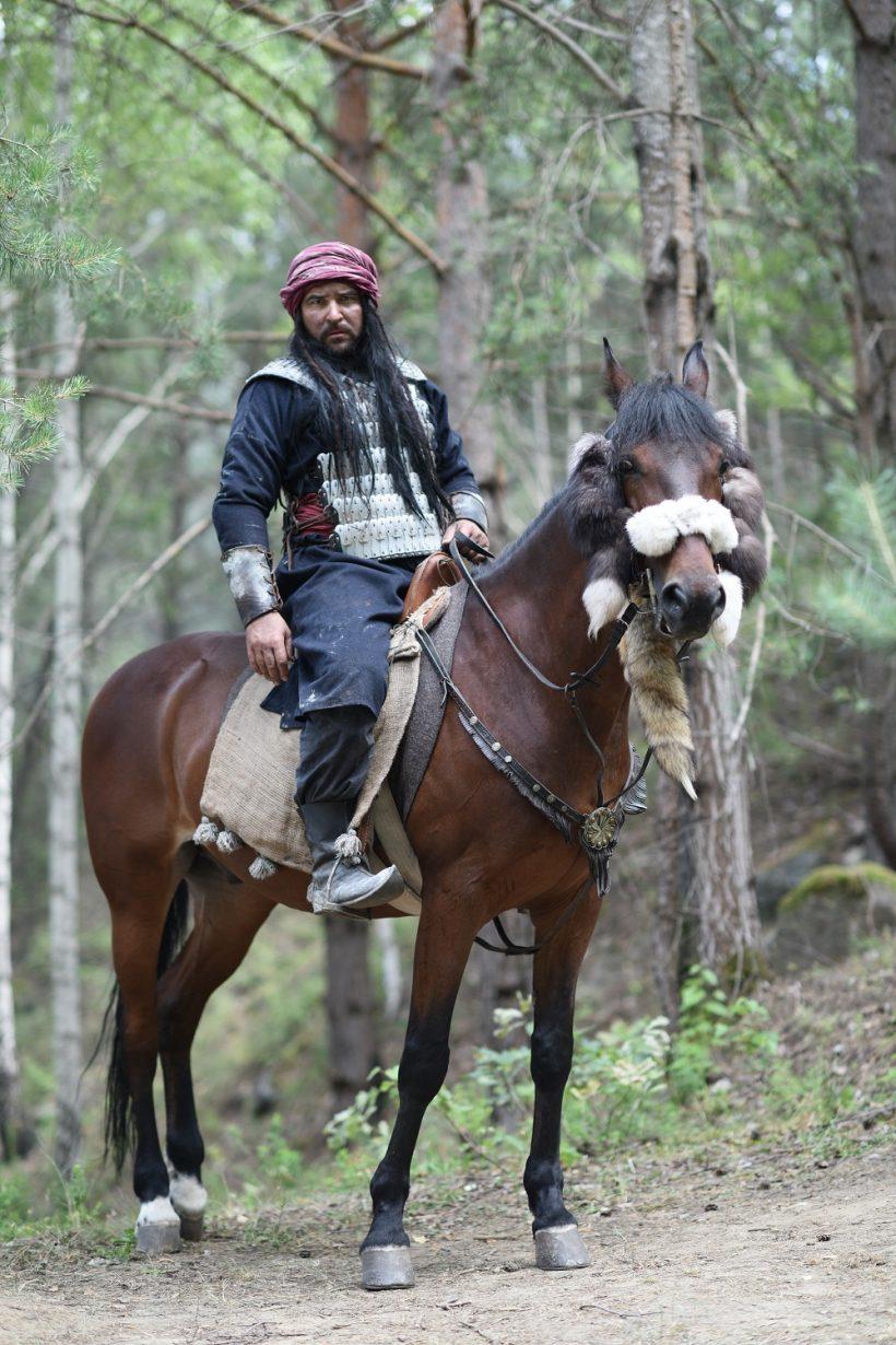 Руслан Сенічкін перевтілиться у воїна-кочівника в новому серіалі