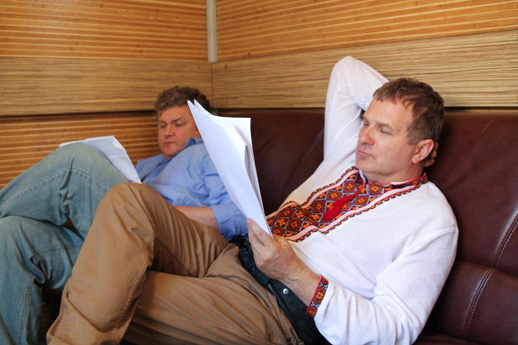 Юрий Горбунов и Назар Заднепрянский