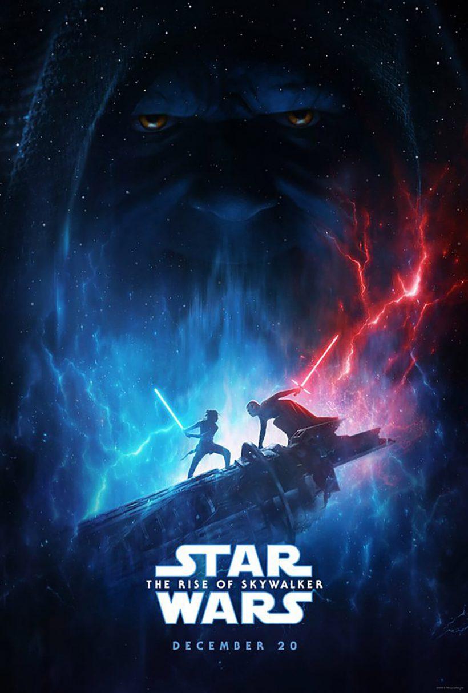 """Постер 9 эпизода """"Звездных войн"""""""