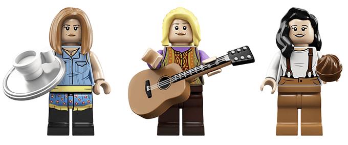 Герои сериала «Друзья» стали Lego-игрушками