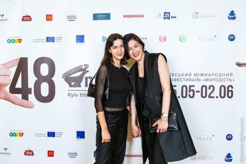 Наталья Либет с дочерью Светланой