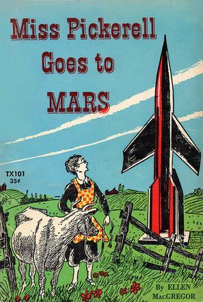 обложка книги Miss Pickerel goes to Mars