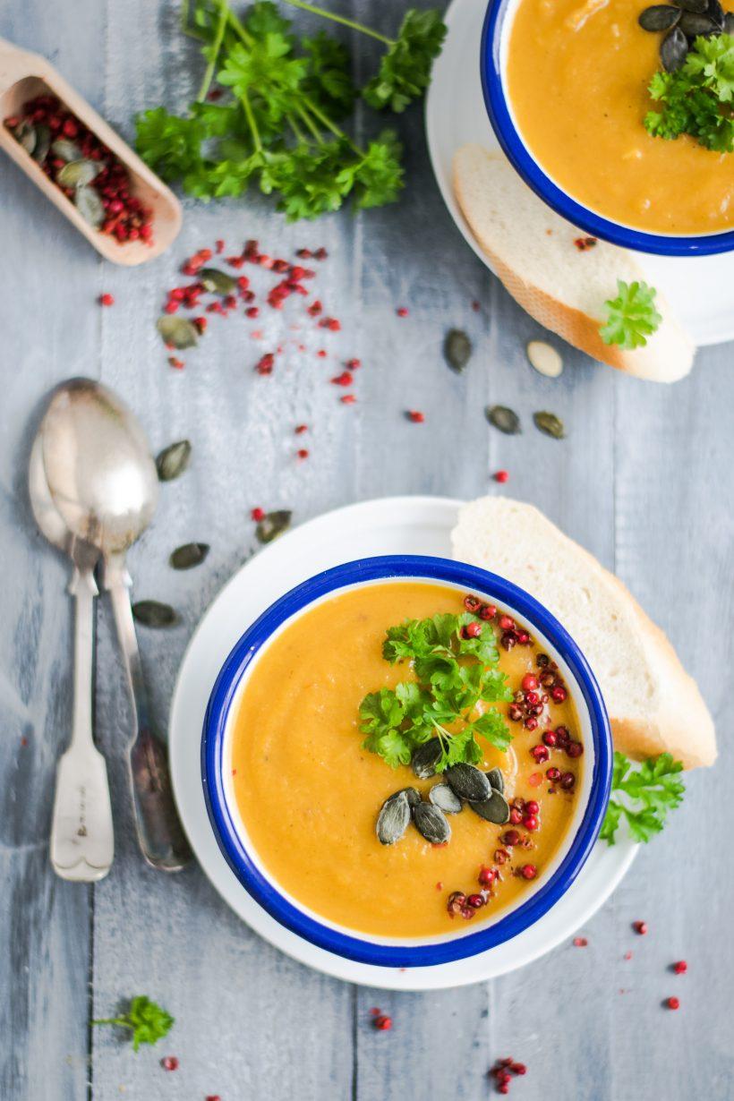 carrot creme soup