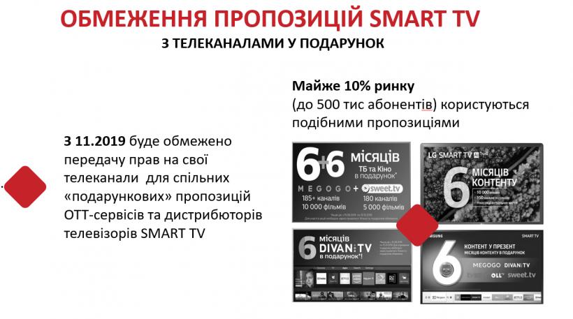 «Плюси» просять ТВ-провайдерів обмежити «абонентські акції» і кількість девайсів для ОТТ