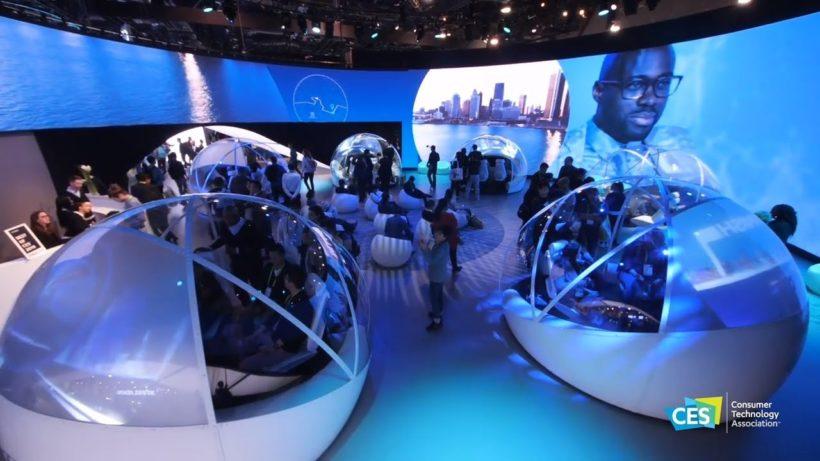 Павильон CES Smart Cities