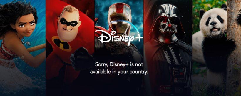 Стриминговый сервис Disney+ начал свою работу