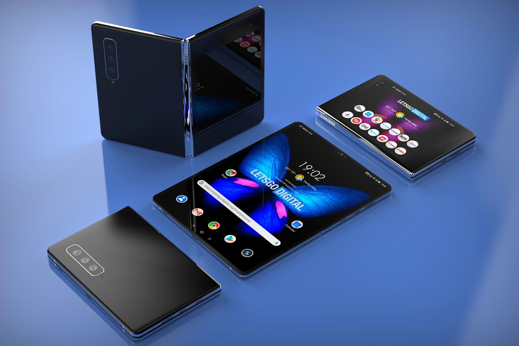 Телефон Samsung Galaxy Fold 2