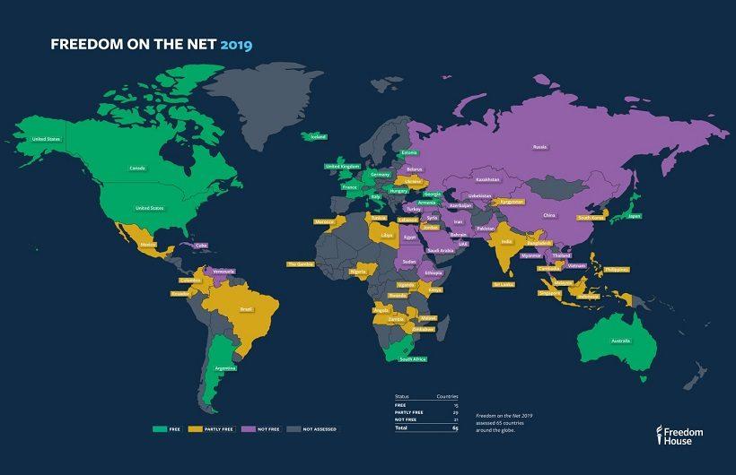 Исследуемые страны