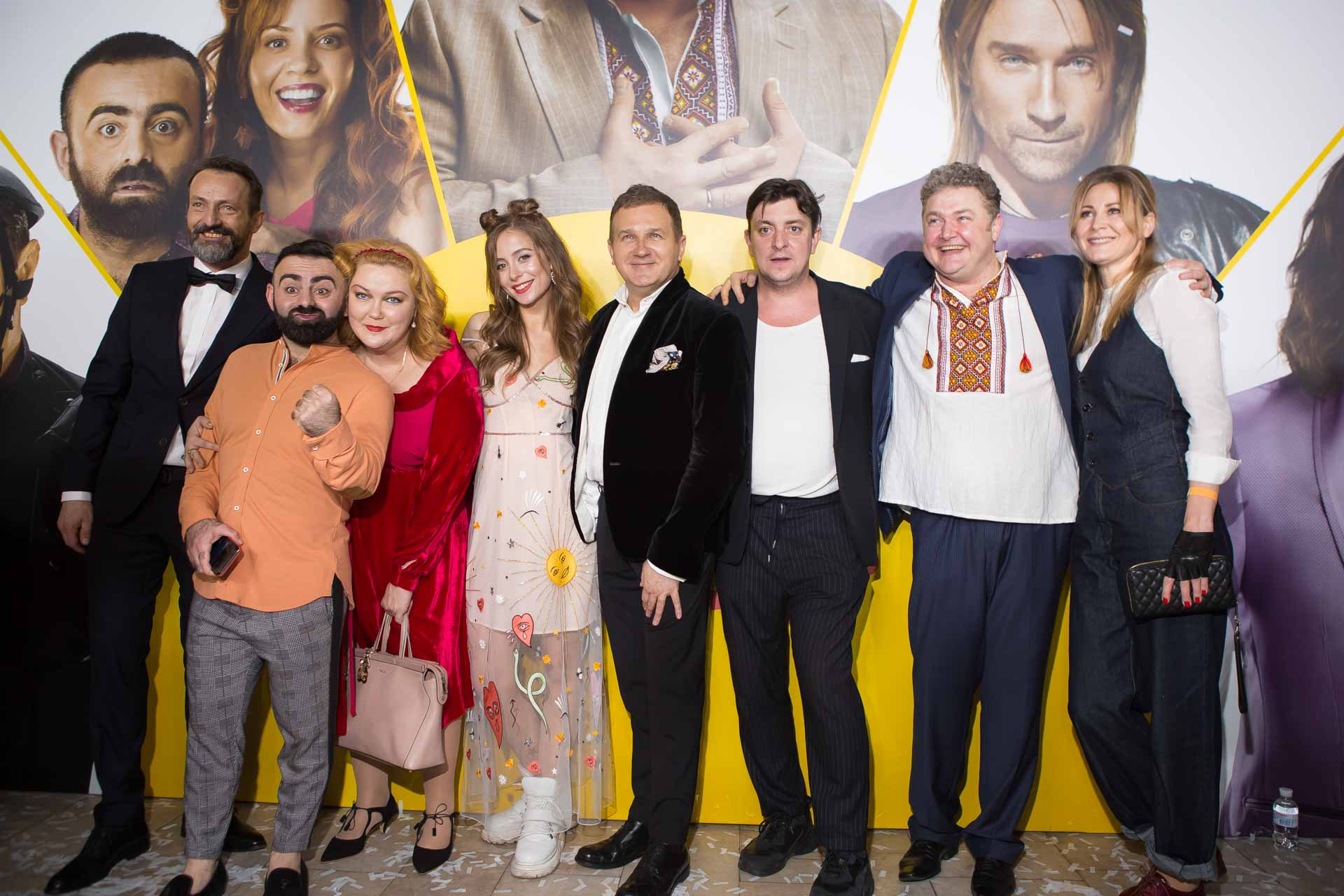 Кто пришел на премьеру «Скаженого весілля 2» – фоторепортаж